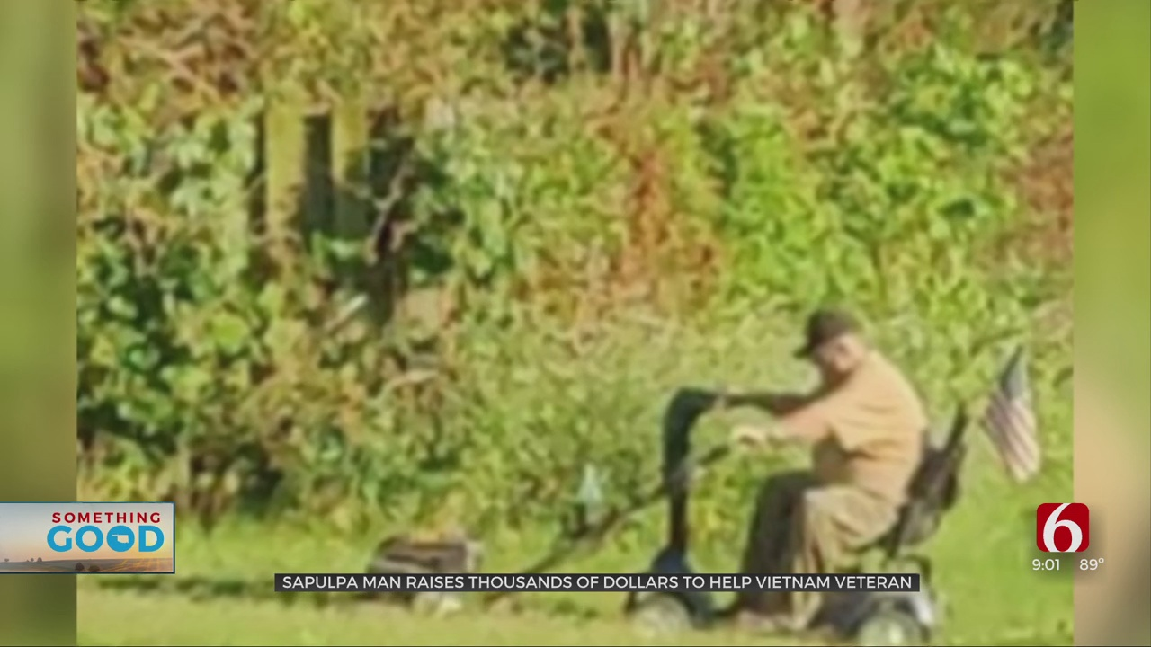 GoFundMe Raises More Than $3,100 In Hours For Veteran To Buy New Lawnmower