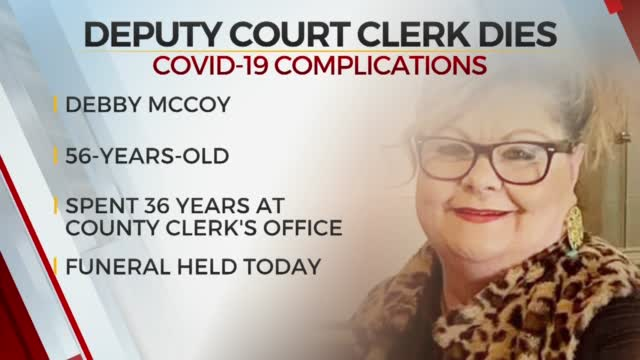 Haskell Co. Deputy Court Clerk Laid To Rest, Died From COVID-19 Complications