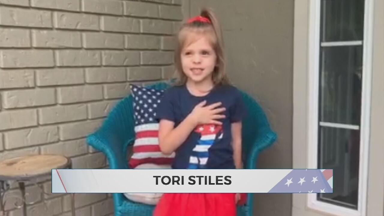Daily Pledge: Tori Stiles