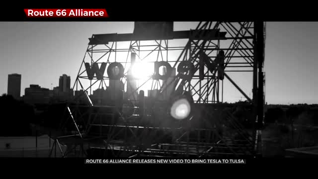 Route 66 Alliance Promotes 'Tesla Is A Natural For Tulsa' In New Video