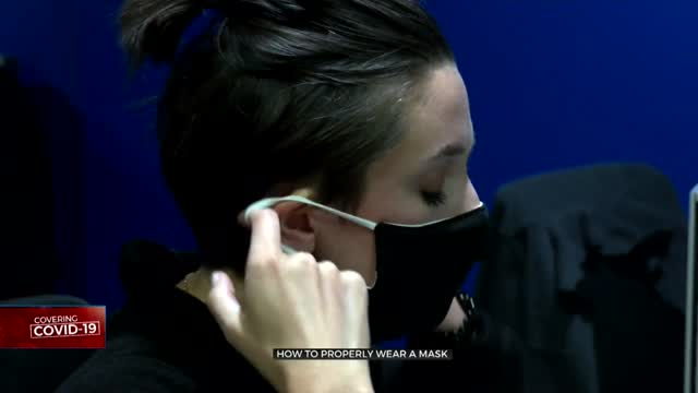 Health Officials Share Advice On How To Wear Masks