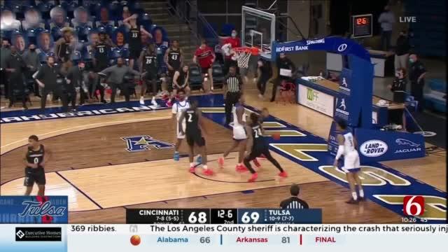 Tulsa Loses Tough Home Battle With Cincinnati