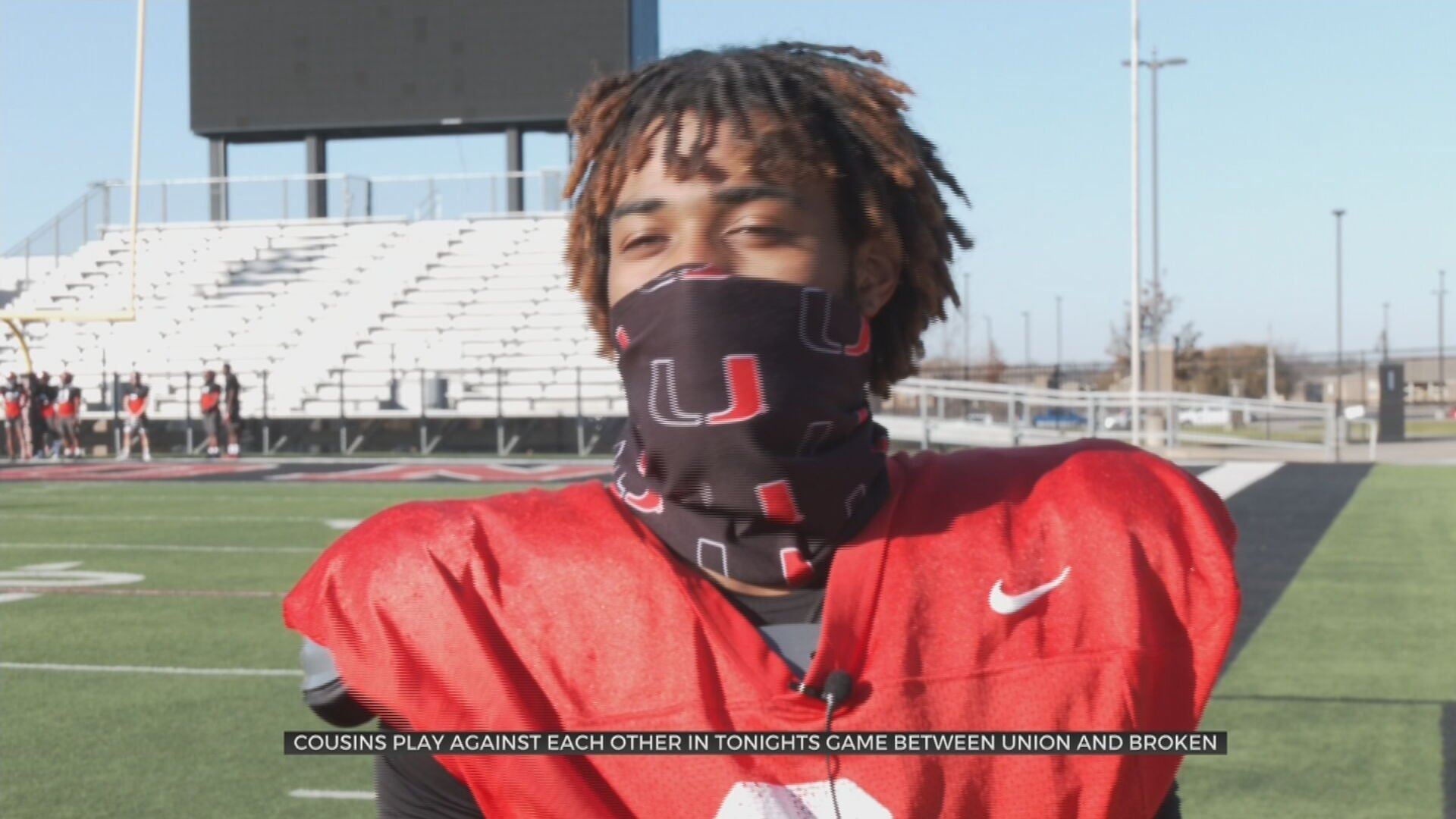 Cousins Face Each Other In Union, Broken Arrow Playoff Matchup