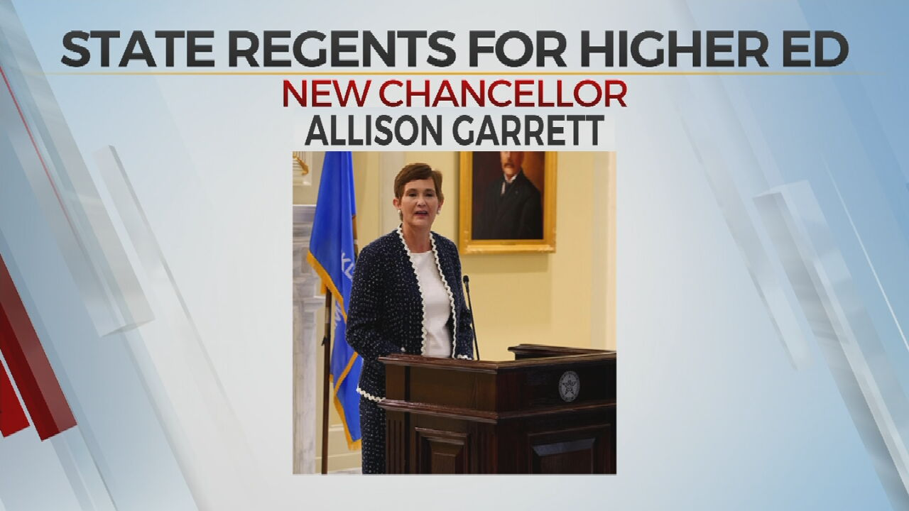 Oklahoma State Regents Elect First Female Chancellor Of Higher Education
