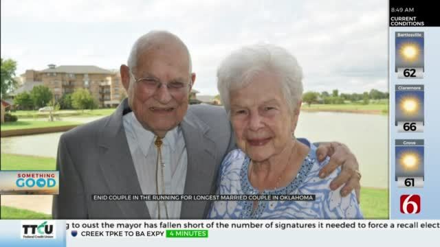 78 Years & Counting, Enid Couple Celebrates Long-Lasting Marriage