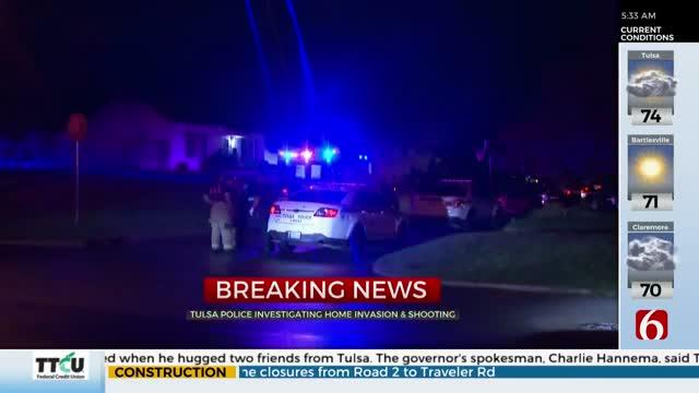 Police: Suspect Shot During Tulsa Home Invasion