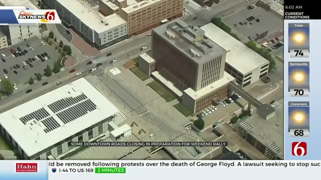 Downtown Tulsa Roads Closing In Preparation For Weekend Trump Rally