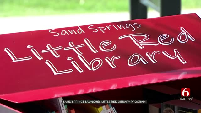 Sand Springs Launches Little Red Library Program