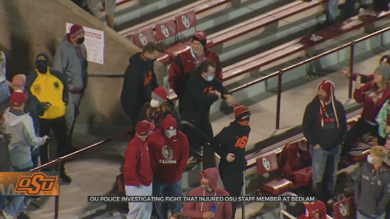 OSU Equipment Manager Suffers Broken Rib After Bedlam Altercation With OU Fans