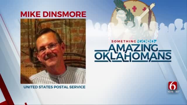 Amazing Oklahoman: Mike Dinsmore Is Life-Saving Postal Worker
