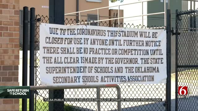 Tulsa Public Schools Release Details Of Athletic Program COVID-19 Precautions