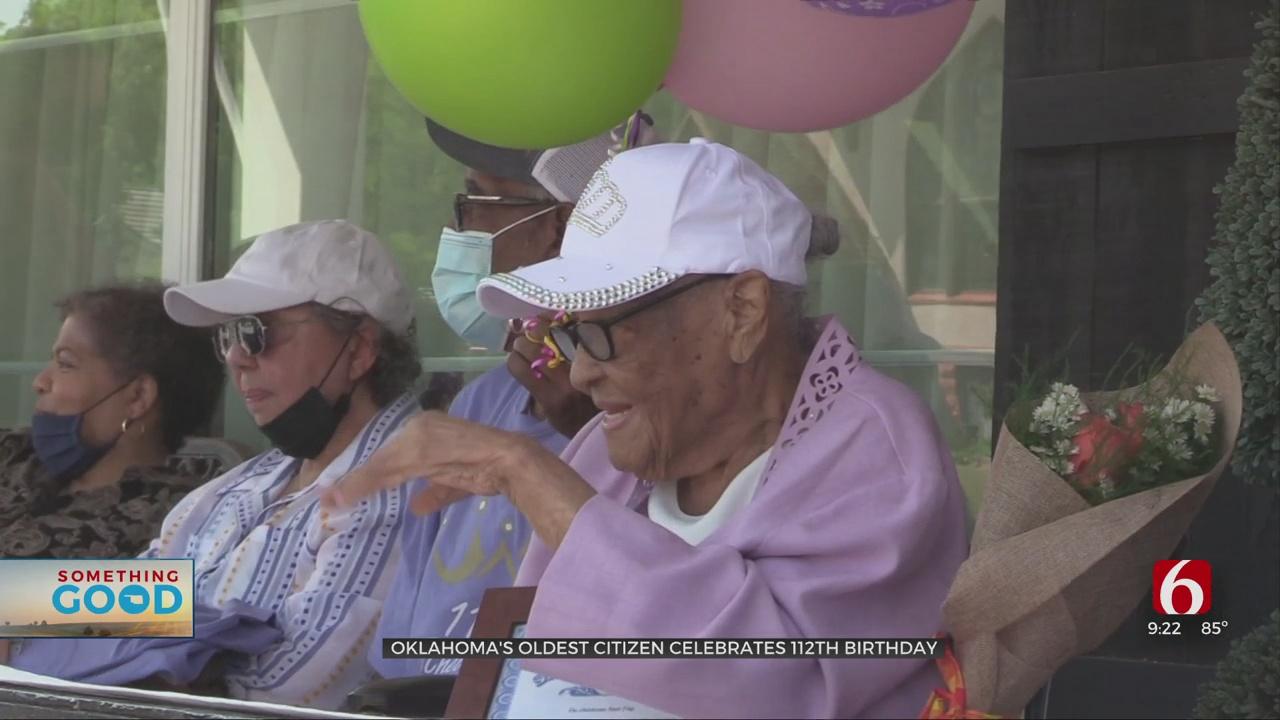 Something Good: Guthrie Woman Celebrates Her 112nd Birthday
