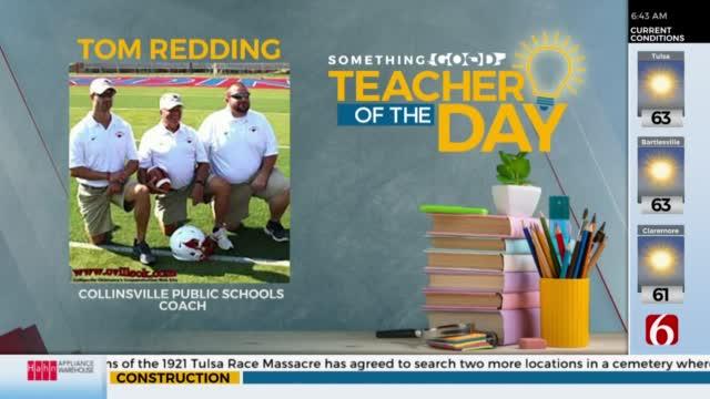 Teacher Of The Day: Tom Redding