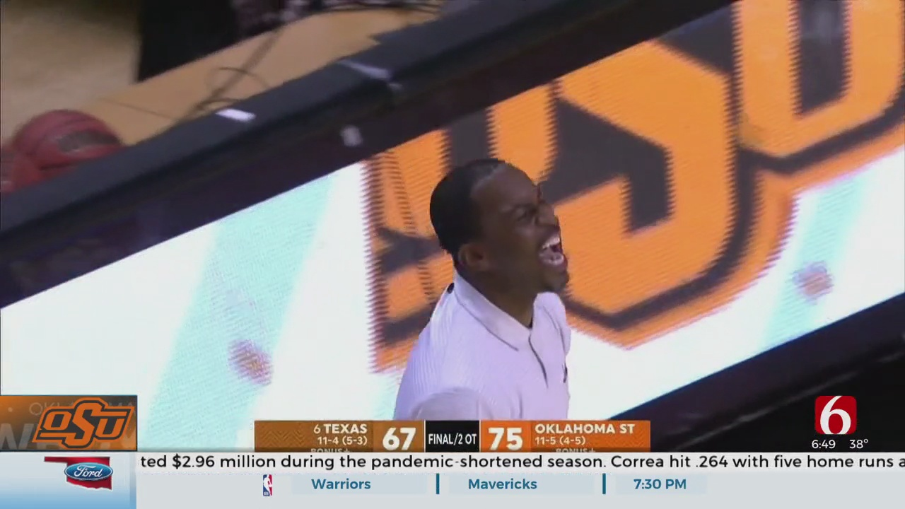 Cunningham Helps Oklahoma State Beat Texas In Double OT