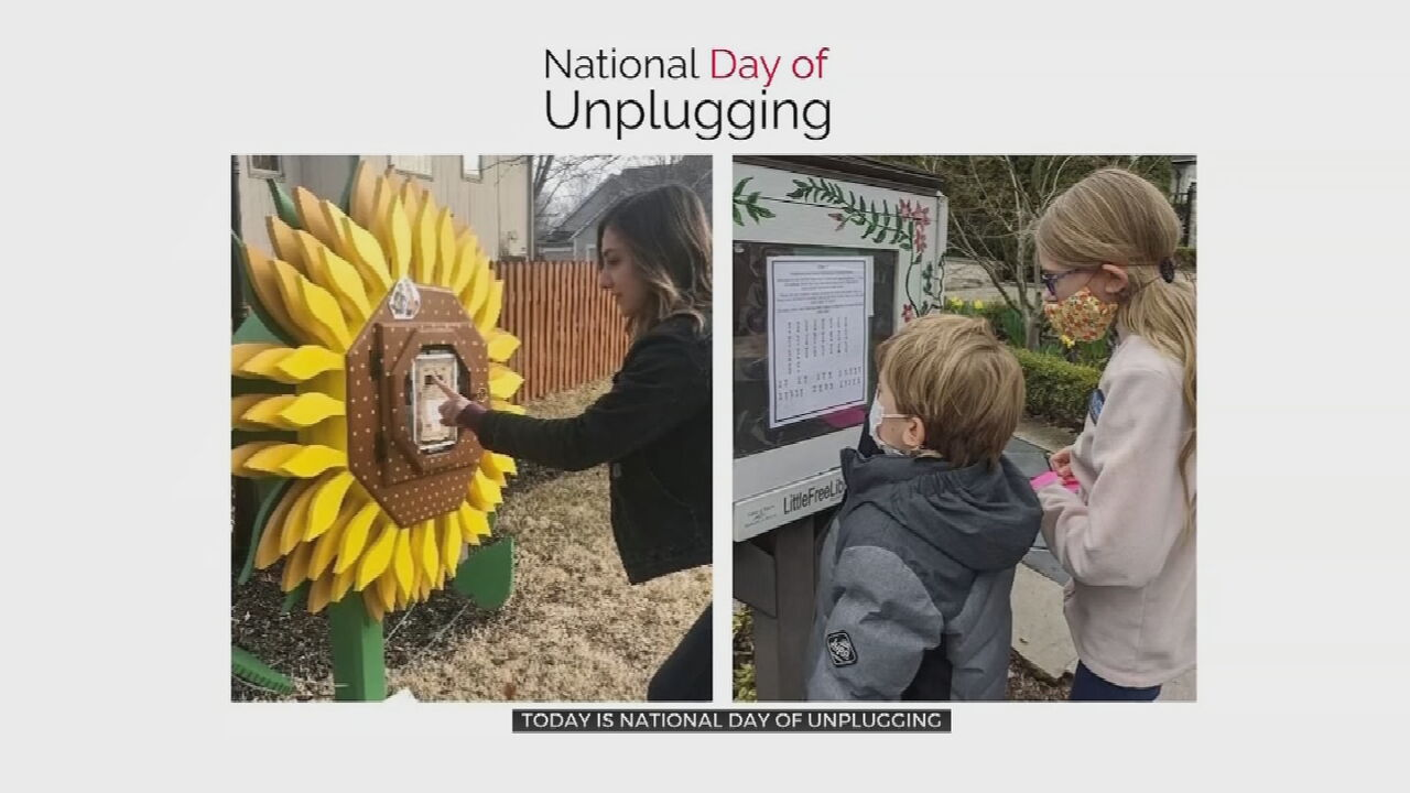 National Day Of Unplugging: Taking A Break After A Year Online