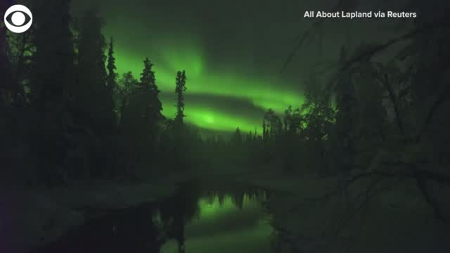 Watch: Northern Lights Over Finland