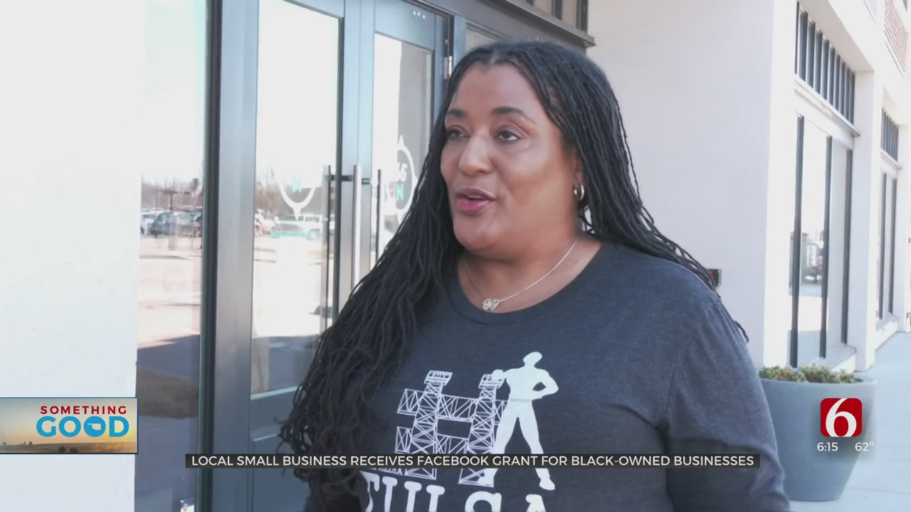 Tulsa Small Business Owner Receives Grant From Facebook