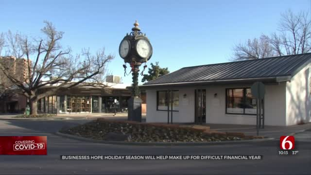 Businesses Hope Holiday Season Will Help Make Up For Difficult Financial Year