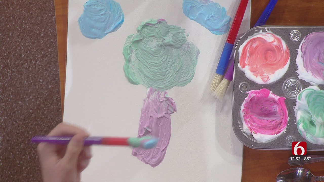 How To Make Your Own Homemade Puff Paint