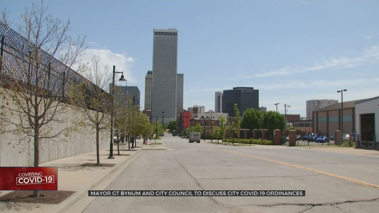 Tulsa City Leaders To Discuss Changes To City's COVID-19 Restrictions On Tuesday