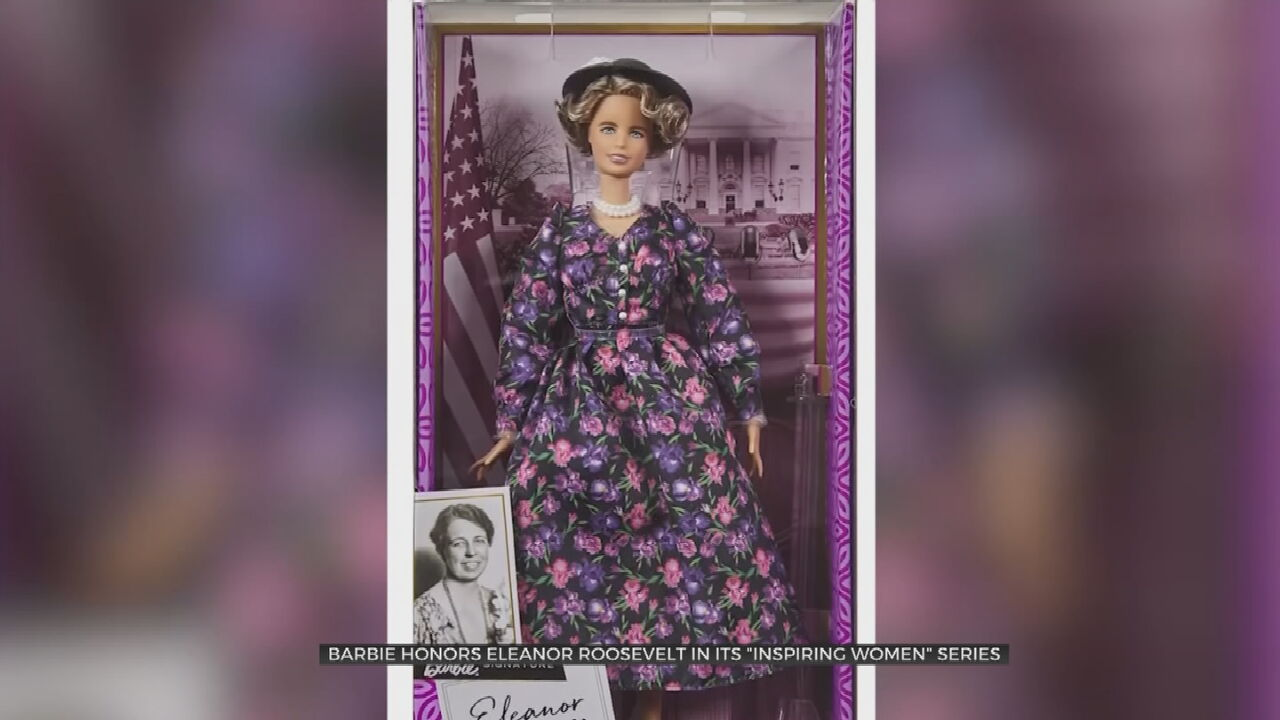 Barbie Celebrates International Women's Day With New Eleanor Roosevelt Doll