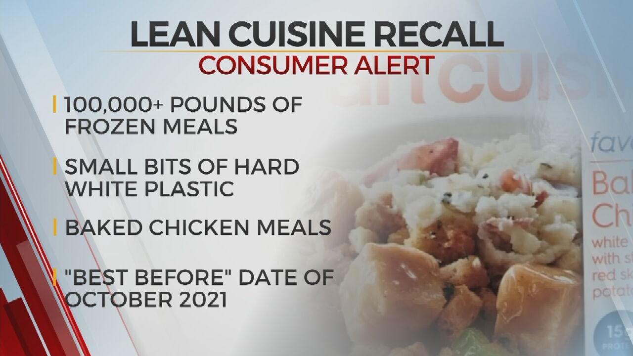 Nestle Recalls 100,000 lbs. Of Lean Cuisine Frozen Meals