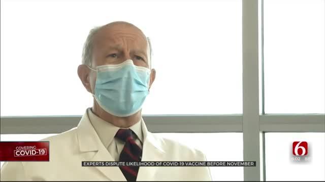 Experts Dispute Likelihood Of COVID-19 Vaccine Before November