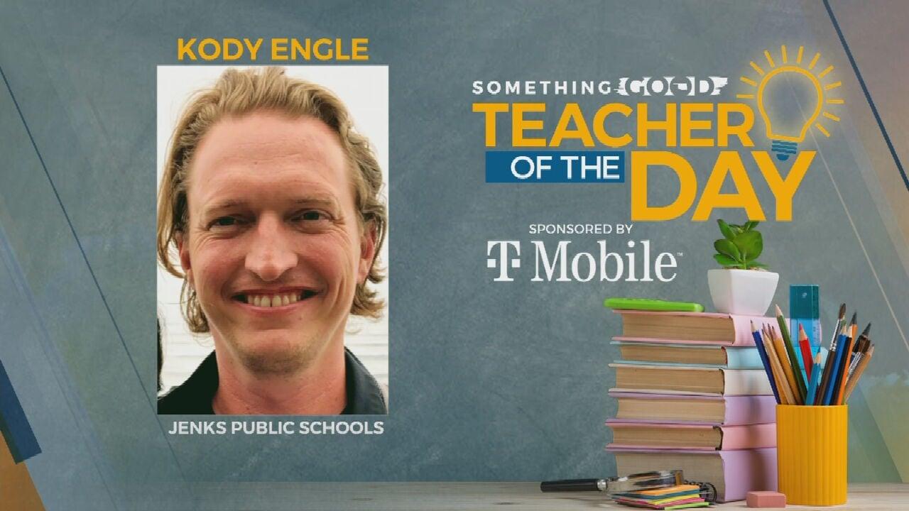 Teacher Of The Day: Kody Engle