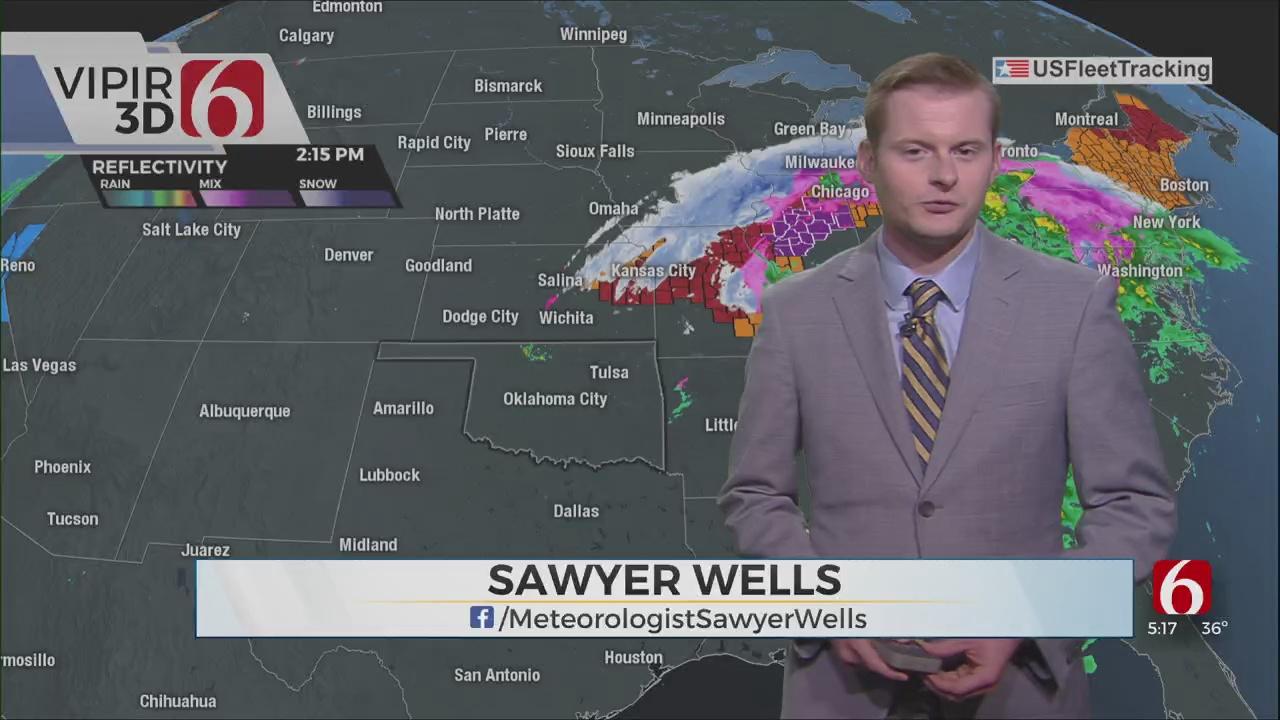 Friday Evening Forecast With Sawyer Wells
