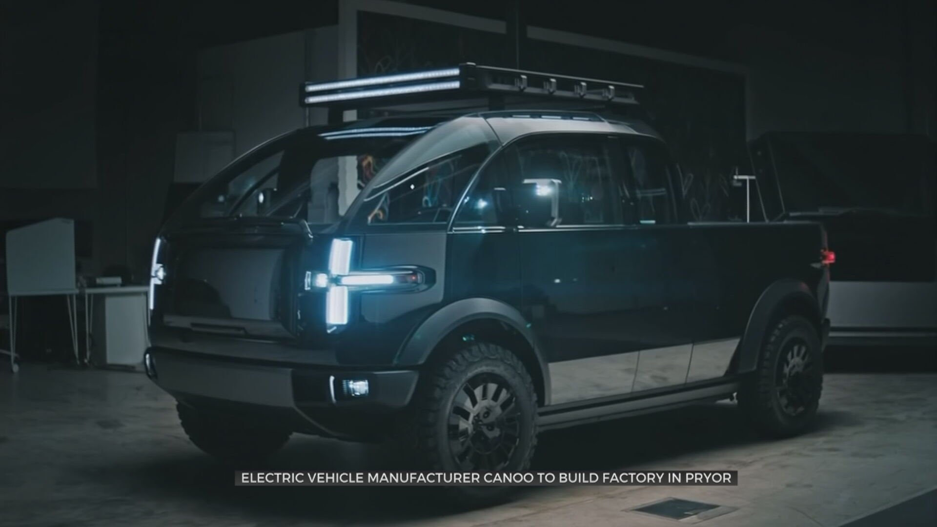 Electric Vehicle Manufacturer Canoo To Bring 2,000 Jobs To Oklahoma