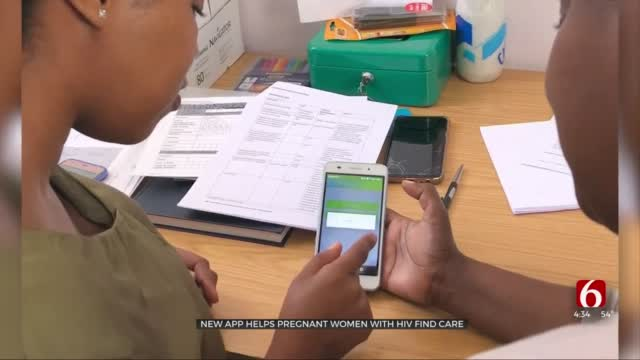 Watch: New App Helps Improve Care For Women With HIV