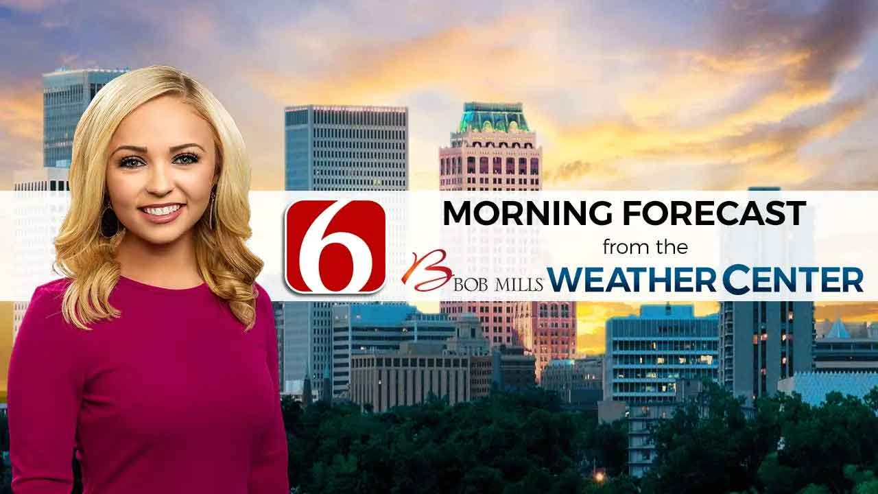 Sunday Morning Forecast WIth Kendall Smith