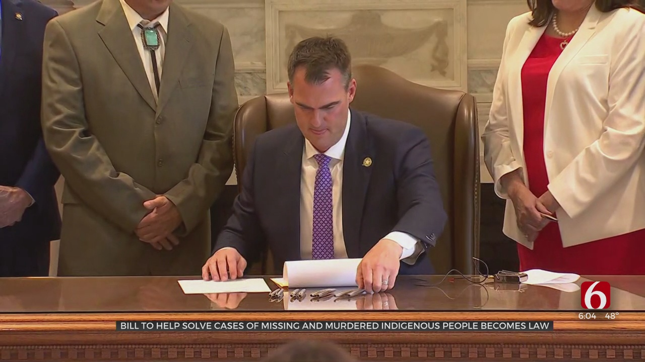 Bill To Help Solve Cases Of Missing, Murdered Native Americans Signed Into Law