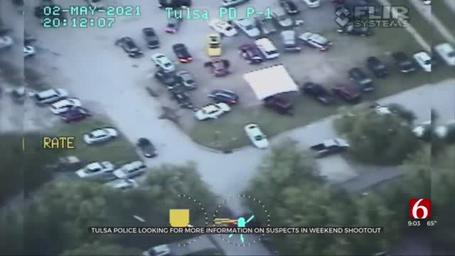 Tulsa Police Release Helicopter Video, Searching For More Information In Weekend Shootout