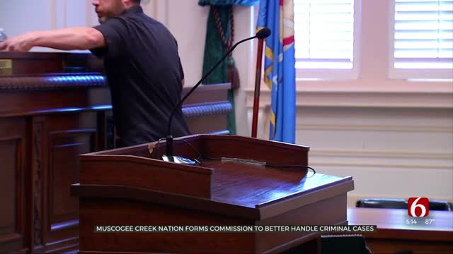Muscogee Creek Nation Forms Commission To Better Handle Criminal Cases