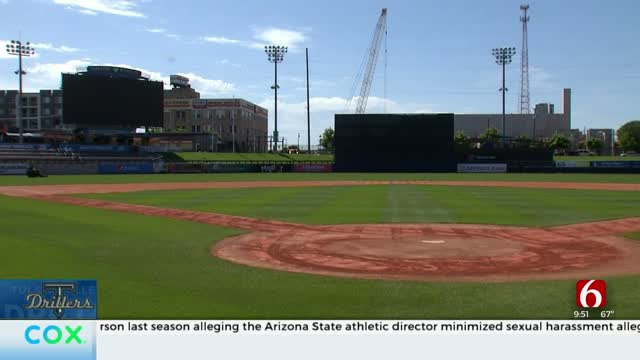 Head Groundskeeper Stays Busy While Tulsa Drillers Wait For Return
