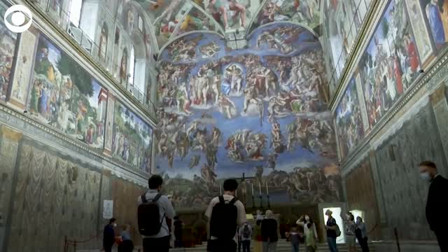Sistine Chapel, Vatican Museums Reopen After 3 Month Closure Due To COVID-19 Pandemic