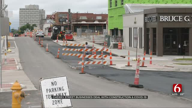 Cherry St Businesses Deal With Construction Obstacles Amidst COVID-19 Challenges