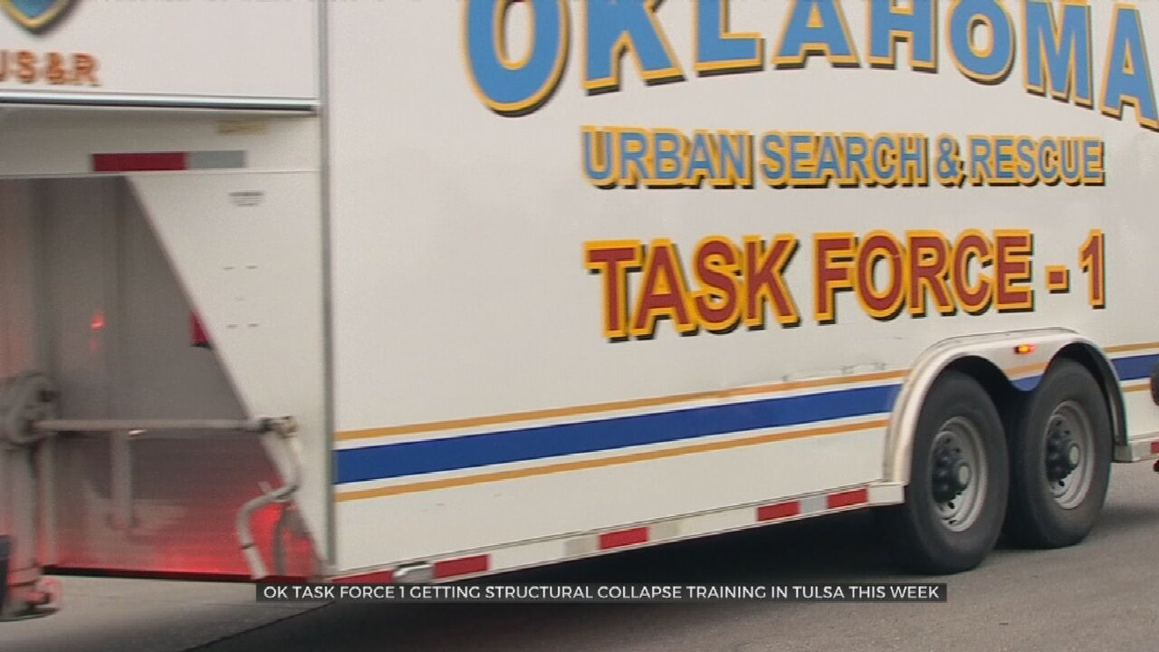 Oklahoma Task Force 1 Getting Structural Collapse Training In Tulsa