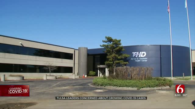 Tulsa County Sees Big Increase In COVID-19 Cases