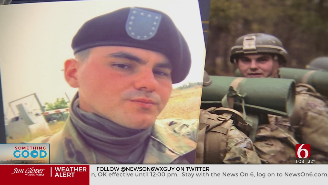 Vinita Family Hopeful Message Gets To Loved One Serving Overseas