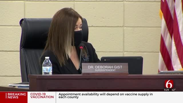TPS Board Discusses COVID-19 Trends, Vaccination Progress In District