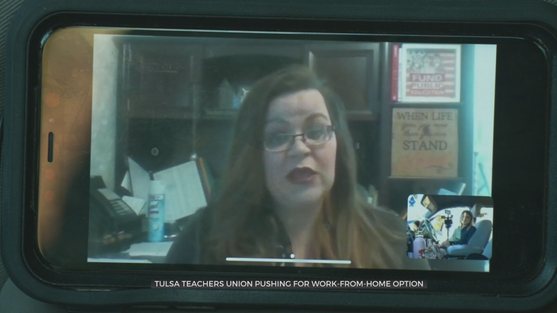 Tulsa Classroom Teachers Union Pushes For Work-From-Home Option