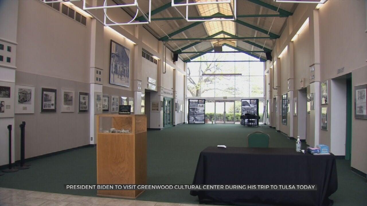 President Biden To Visit Greenwood Cultural Center During Visit To Tulsa