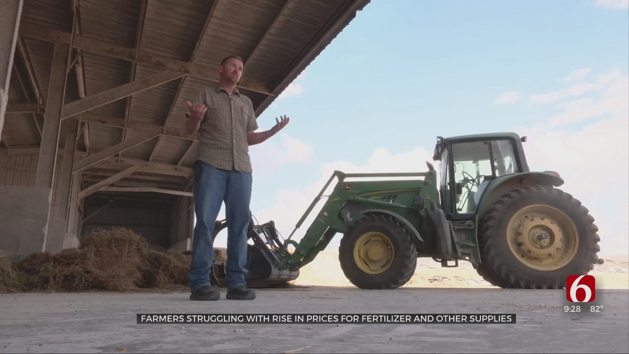 Oklahoma Farmers Struggling With Price Spike For Fertilizer, Other Supplies