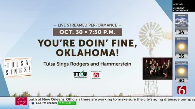 "Tulsa Signature Symphony Hosting ""You're Doin' Fine Oklahoma"" Virtual Event"