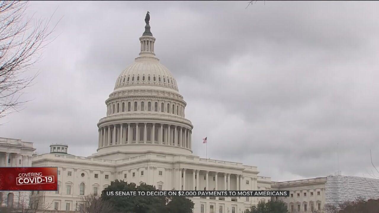 House Approves President Trump's $2K Checks, Sending To GOP-Led Senate