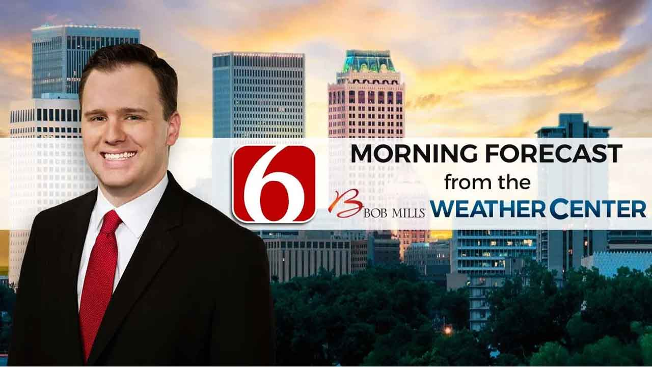 Friday Morning Forecast With Stephen Nehrenz