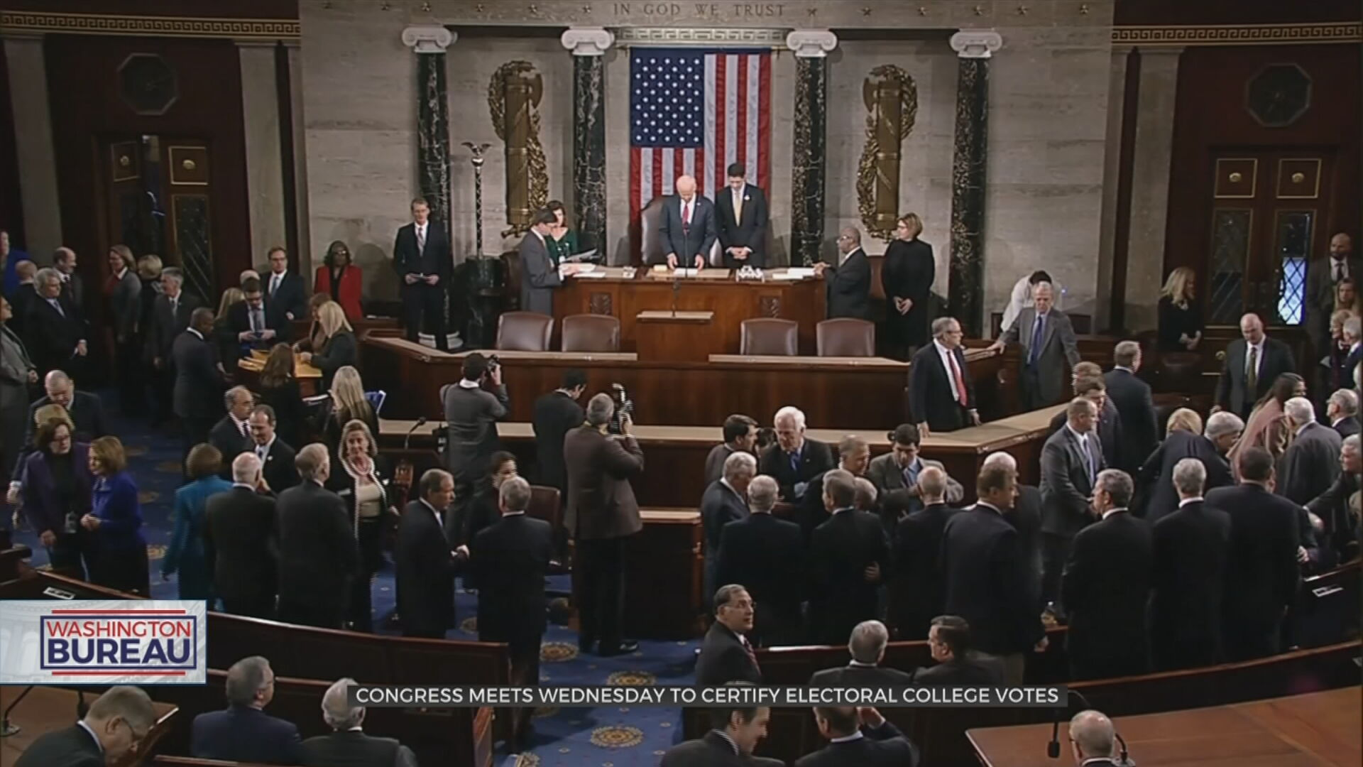 Congress Meets Wednesday To Certify Electoral College Votes