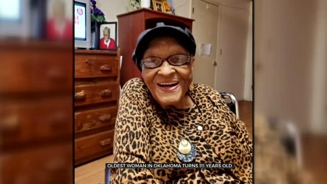 Oldest Woman In Oklahoma Celebrates 111th Birthday